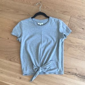 Madewell tie-front t-shirt
